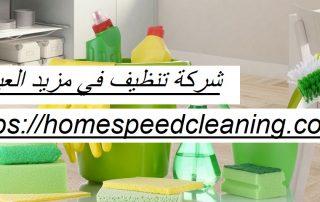 شركة تنظيف في مزيد العين